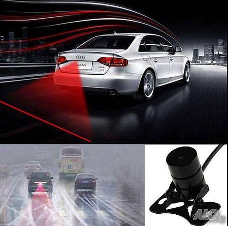 Стоп лазер за мъгла + подарък фолио за мъгла .Стоп габарит 12v-24v