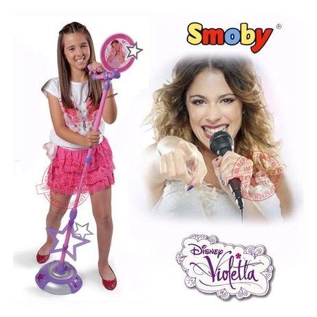 Microfon cu stativ Violetta