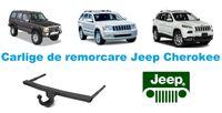 Carlige de remorcare omologate RAR Jeep Cherokee - 5 ani garantie