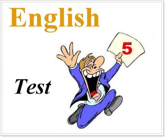 Выполнение контрольных по английскому языку