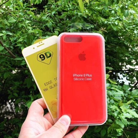  Folie + Huse iPhone 7/8 / Plus Originale/ Diferite culori !  75 lei