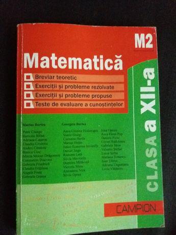 Matematica M2 clasa a XII-a