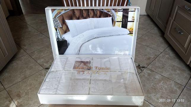 Постельное белье,  2-х спальное, сатин, премиум коллекция, Турция
