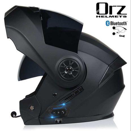 Новый Мотошлем Оригинал XL с блютузом трансформер шлем каска
