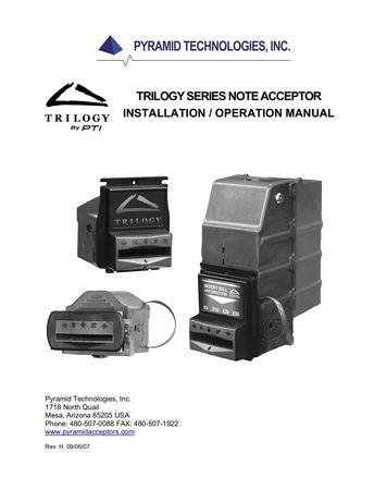 Acceptoare NV9 , NV 10 , Trilogy cu sau fara impachetare