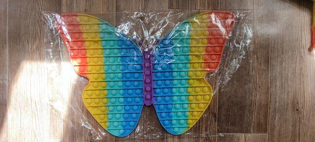 Большой Поп ит большой бабочка размер 40 на 30