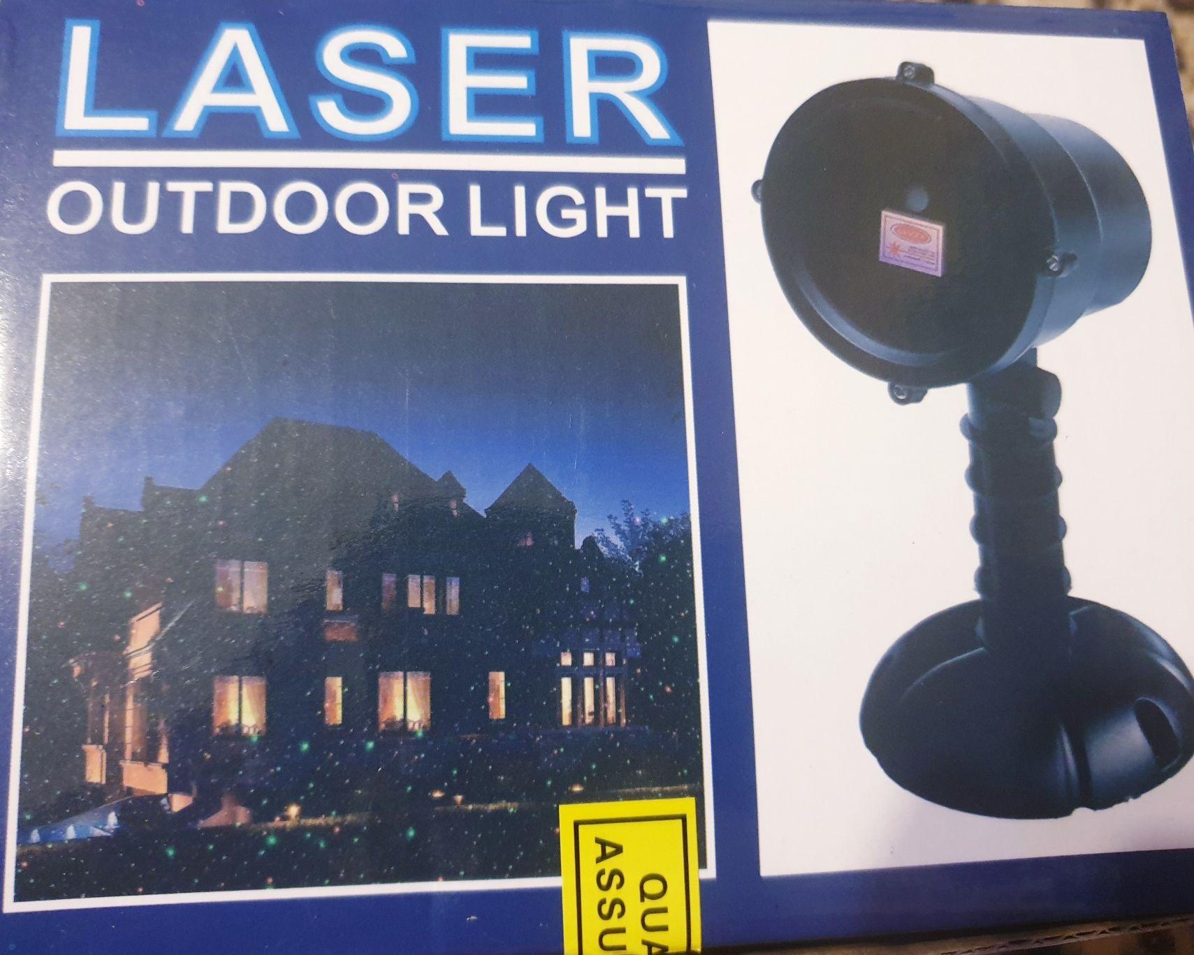 Proiector laser de Gradină Tip Star Shower