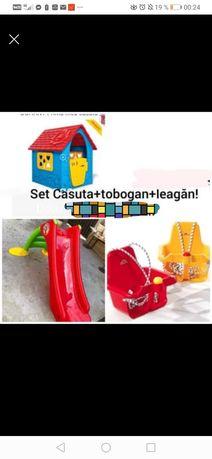 SET Casuta+Topogan+Leagan! Doar 450 LEI