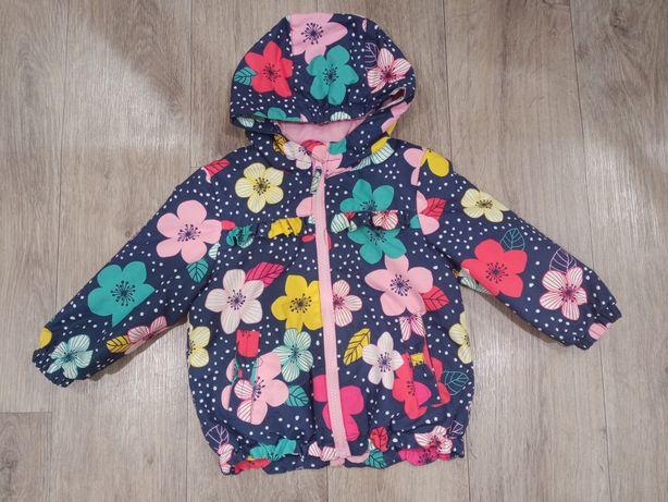 Продам детскую куртку на девочку осень/весна