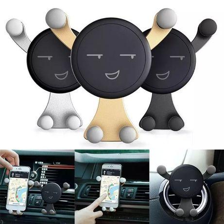 Стойка за смартфон телефон за табло на кола автомобил - ново + подарък