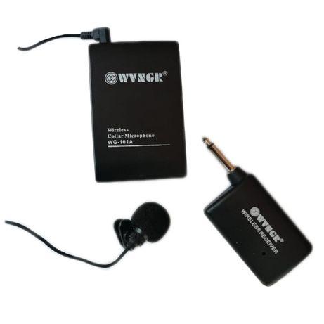 Microfon wireless tip lavaliera WGA, 30 m, modulare FM