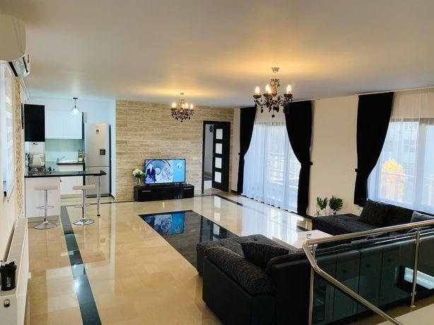 Penthouse de LUX, 176 mp/utili, Republicii, Mobilat / Utilat, Bloc NOU