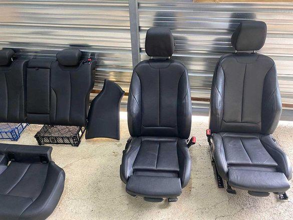 ТОП ! Кожен салон с подгрев и 4 кори BMW 4 GT F32 F36 БМВ Ф36 ГТ4