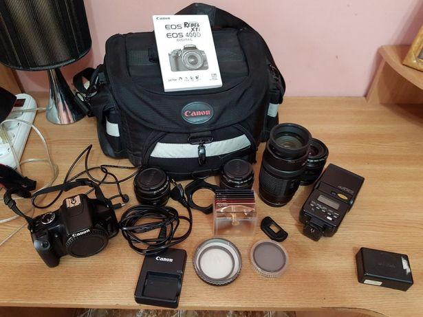 Aparat foto Canon Eos 450D set