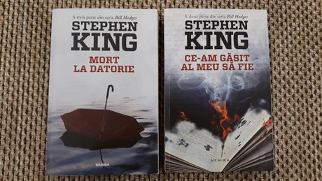 Stephen King seria Bill Hodges