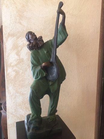 Statueta bronz art-deco