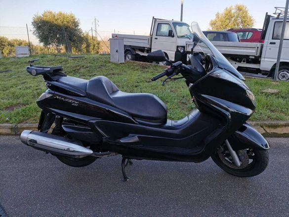 Yamaha Majesty 400i на части