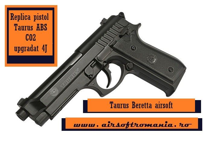 Pistol Taurus 4 Joules GARANTIE 2 ANI Magazin Airsoft
