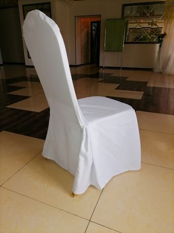 Продаются белые чехлы на стулья