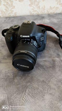 Продается фотоаппарат Canon 600 D с дополнительным объективом зум