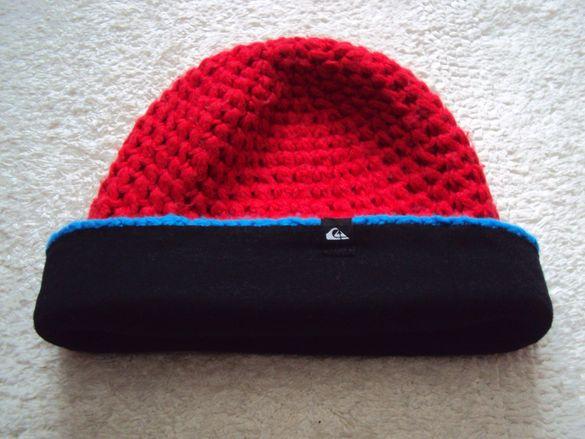 Ефектна зимна шапка
