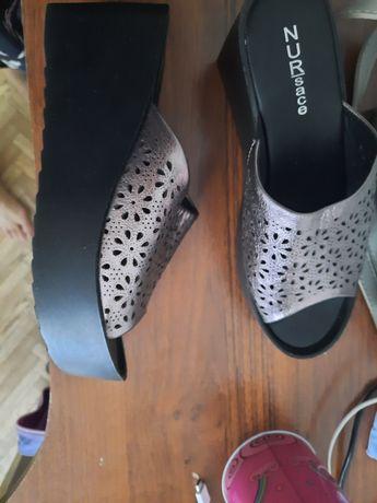 Женская обувь Сабо кожаные 39 размер новые
