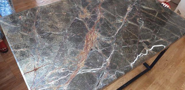 Мраморный стол натуральный