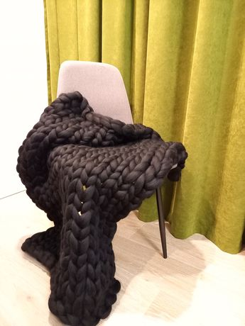 Patura impletita din lana naturala