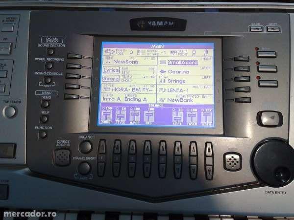 Program cu ritmuri romanesti pentru Yamaha PSR-2100, PSR-1100