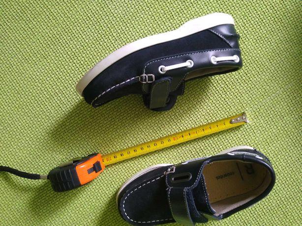 Pantofi cocheți piele întoarsă copii 5-6 ani