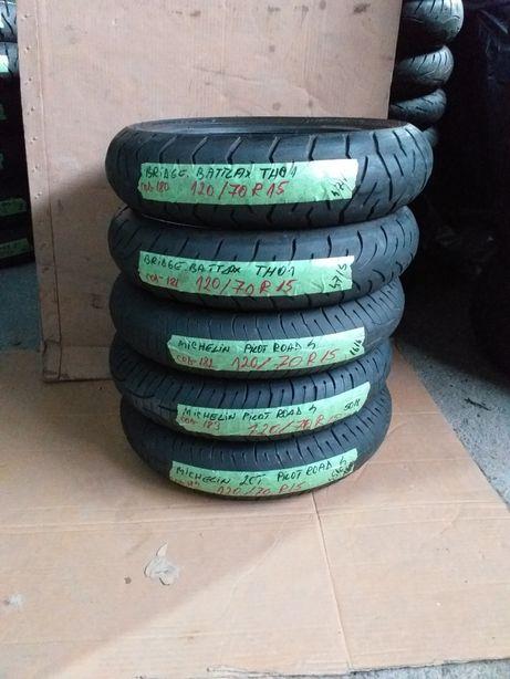 Cauciuc anvelope 120/70 r15 bridgestone th01 Michelin 2ct pilot road4
