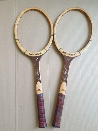 Snauwaert Bryan Gottfried-Rachete tenis lemn