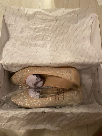 Красиви пантофки с камъчета