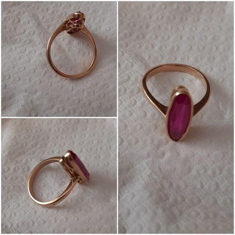 золотое кольцо 583 проба СССР