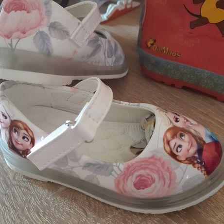 Детски обувки Ана и Елза