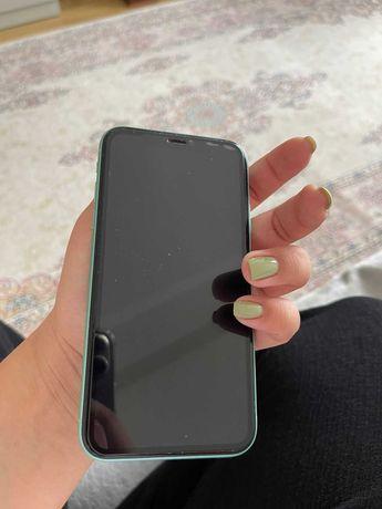 IPHONE 11 цвет зеленый 64ГБ