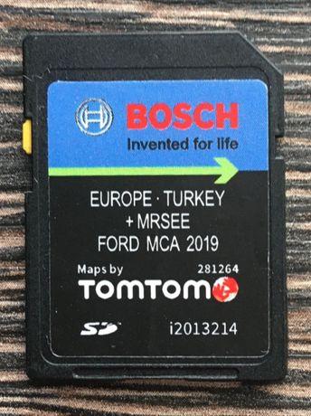 Ford MCA 2020гд SD Card Europa V9 Форд МЦА СД Карта Европа и Търция