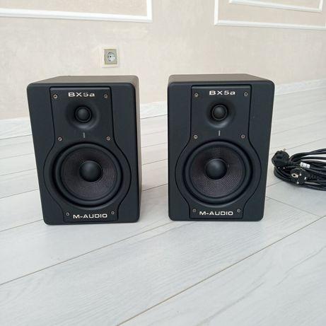 M audio Bx5 студийные мониторы
