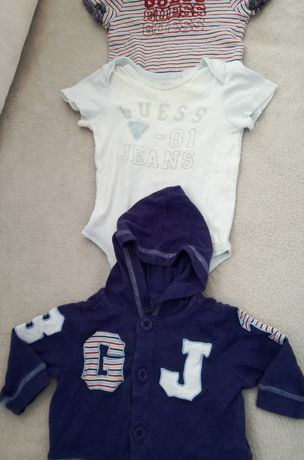 Бебешки дрешки 3-6 м Guess ,Mexx,Ralph Lauren