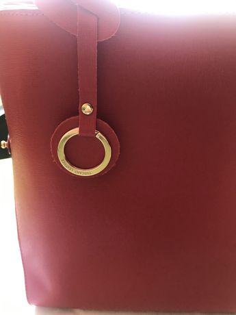 Чанта естествена кожа