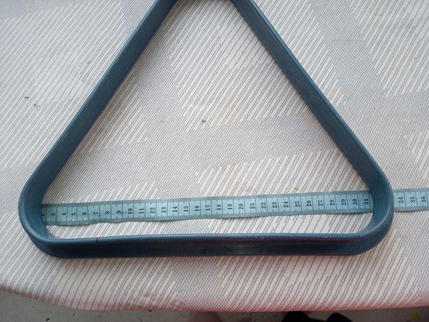 Triunghi din plastic pentru biliard