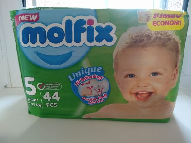 Памперс Molfix 5 размера 10 упаковок
