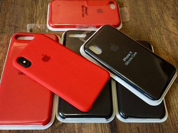 Apple case / кейс калъф за iPhone X XS XS MAX 8 8 plus 7 силиконов