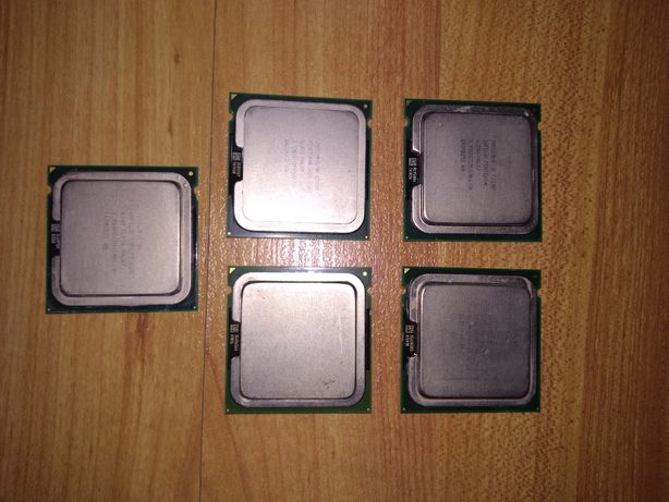 Procesoare Intel 775 core2duo, dual-core