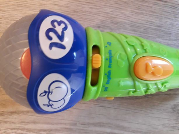 Jucarie microfon copii Leapfrog in limba engleza