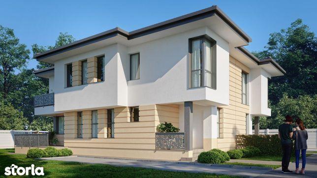 Vila 4 camere cu teren in proprietate 250 mp - com Berceni