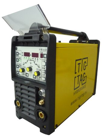 Електрожен аргон AC DC Професионал TIG 200 с пулс за алуминий с безп