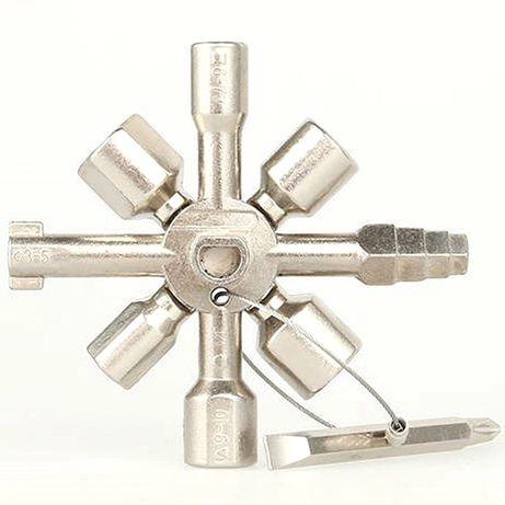 Комбиниран ключ с накрайници