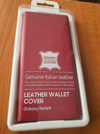 Husa Sigilată Originală Wallet Flip Cover Samsung Galaxy Note 9