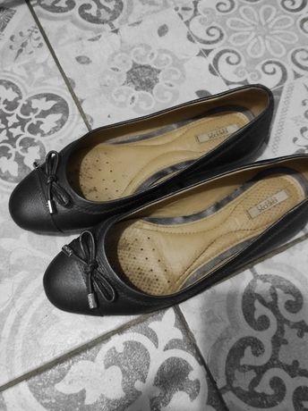 Geox кожаные балетки